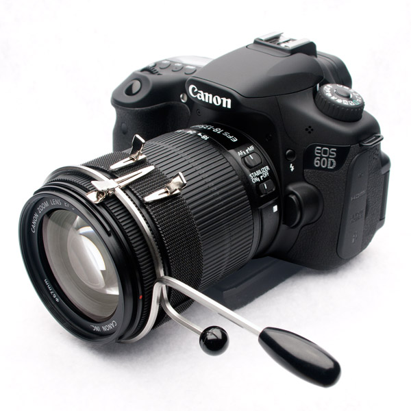 DSLR Follow Focus on Canon 60d with 18-135mm lens