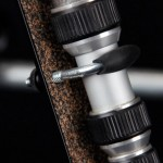 Nautilus Tripod Wheels Bracket - U-bolt Close-up