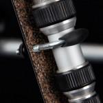 Nautilus Tripod Wheels Bracket - U-bolt Close-up