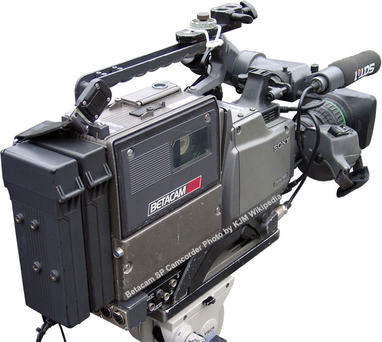 Betacam SP Camcorder by KMJ - Wikipedia