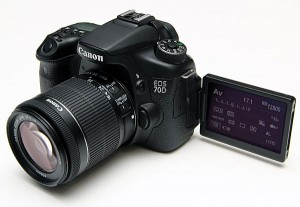 Canon 70D Flip-out LCD