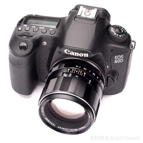 Canon 60d Takumar 85mm Lens